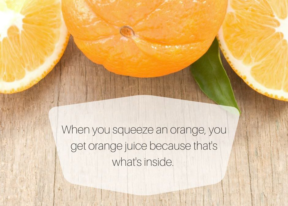 What Comes Out When Life Squeezes You? By Dr. Wayne Dyer