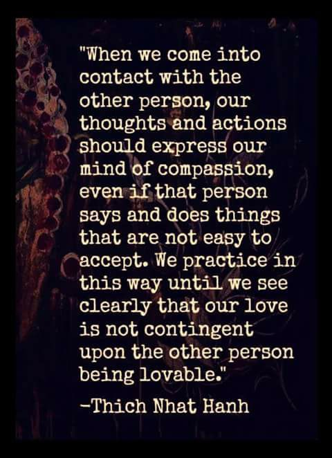 Loving Without Conditions